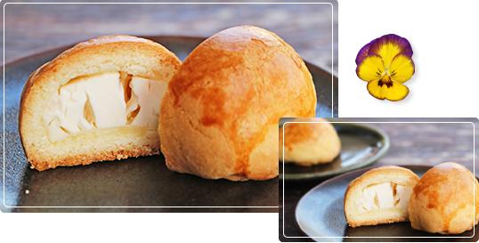 チーズ饅頭の写真