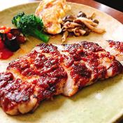 黒豚ロースステーキカレー豚味噌焼き