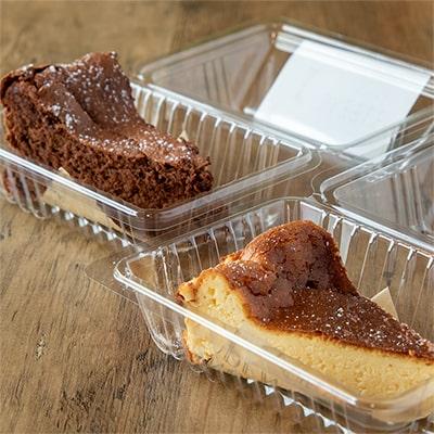 自家製チョコレートケーキ・チーズケーキ