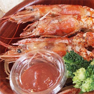 赤海老のオーブン焼き