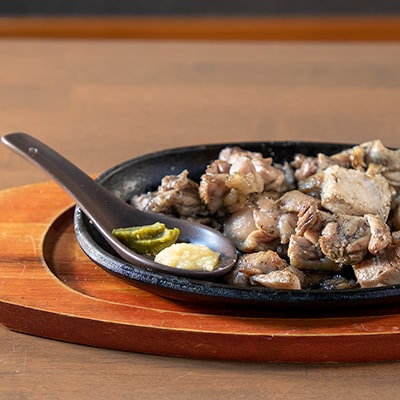 鶏ハラミの炙り焼き