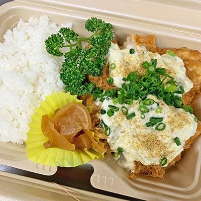 厚切チキン南蛮(味噌汁付き)